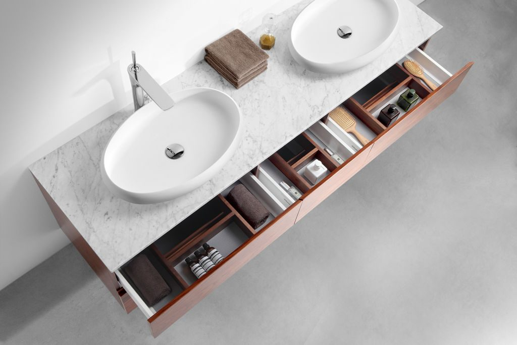 Clever Bathroom Storage Ideas - Vanity With Drawers