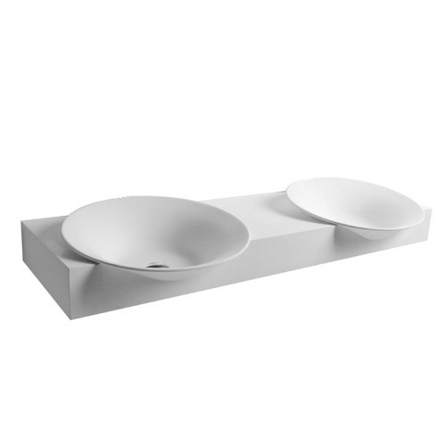 Catto Dble Wall Basin 1400mm