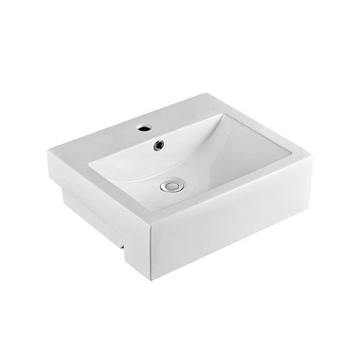 Andes Semi Recessed Basin