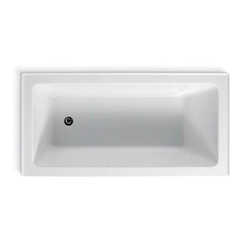 Arco Inset Bath 3Tile Flange L