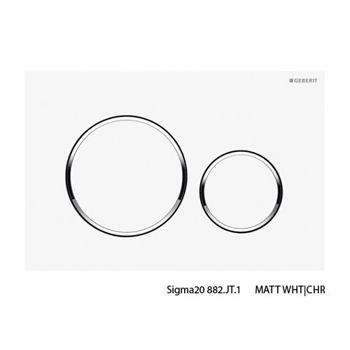 Sigma20 M-WHT/CHR/M-WHTButtons