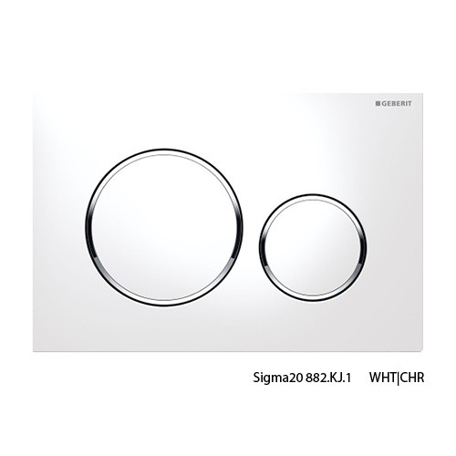 Sigma20 WHT/CHR/WHT Buttons