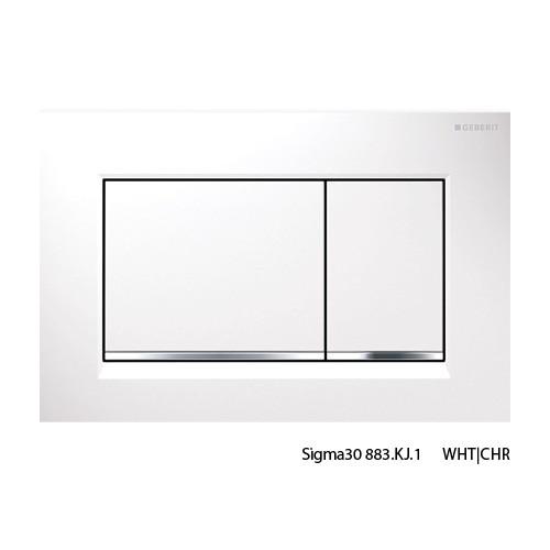 Sigma30 WHT/CHR/WHT Buttons