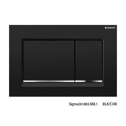 Sigma30 BLK/CHR/BLK Buttons