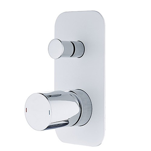 Jordy Wall Mixer/Diverter-WHT