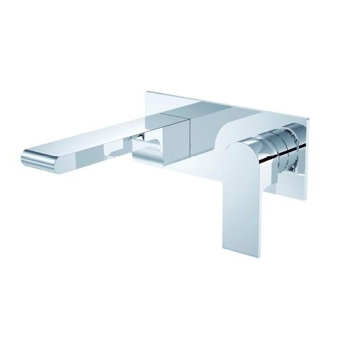 Hios Wall Basin/Bath Mixer