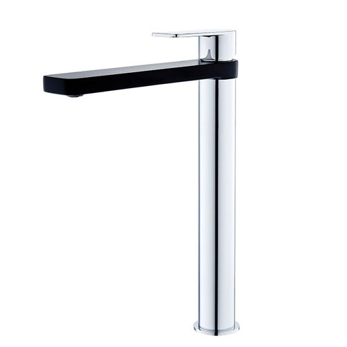 Zoe Tall Basin Mixer-BLK