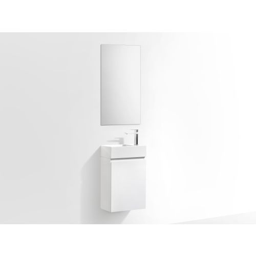 Lunar Wall Hung Vanity 400mm