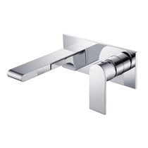 Hios Wall Basin/Bath Mixer