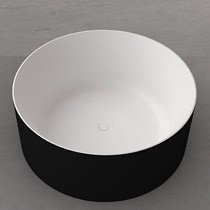 Drum Freestanding Bath BLACK