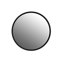Sphere Round Mirror BLACK