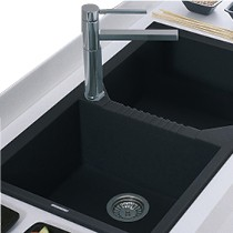 Tekno 450 Anthracite Sink 1TH