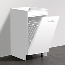 Base Cabinet-LaundryBasket 450